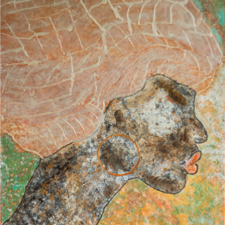 € 500 80x60 African woman