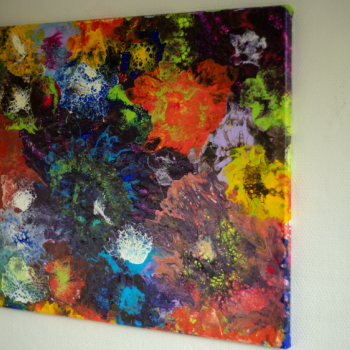 € 650 60x80 Mixed media acryl on canvas